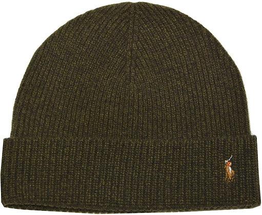 Polo RL - Men's Signature Cold Weather Cuff Hat - Hunter Green