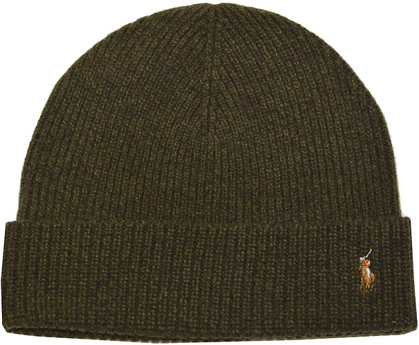 Polo RL - Men's Signature Cold Weather Cuff Hat - Hunter Green