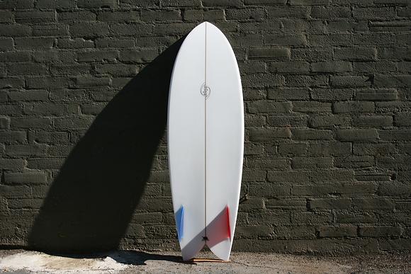 "Bing Surfboards Twin Fin Fish [5'8""]"