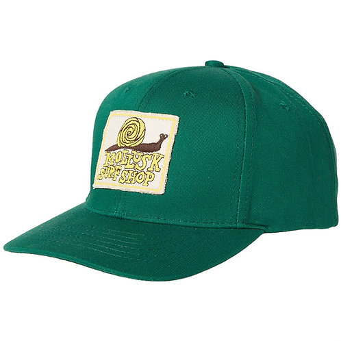 Mollusk Snail Patch Hat - Green