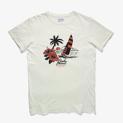Banks Pacifica Breeze Tee - Off White