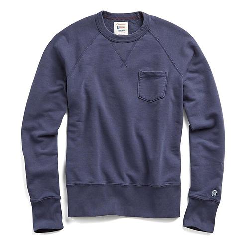 Todd Snyder x Champion Garment Dyed Swea - Navy