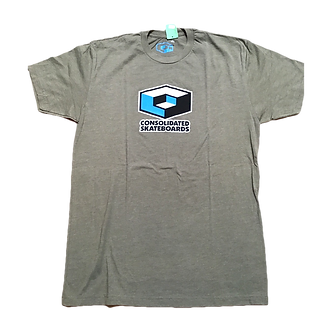 Consolidated Logo Tee - Olive Green