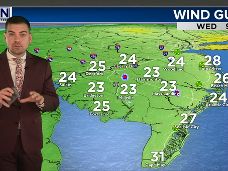 Wednesday Lunchtime Forecast