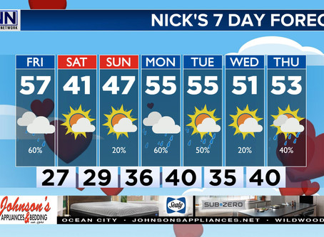 7 Day Forecast: A Light at the End of the Tunnel... Then Another Round of Yucky Weather!