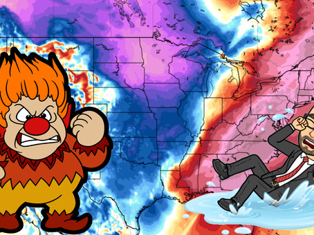 January to be Dominated by Heat Miser!