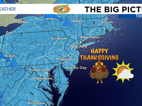 Cold But Relatively Bright Turkey Day - 11/28