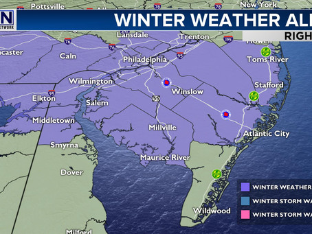 Winter Weather Advisory For Many; Light Snow Accumulations Possible