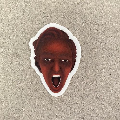 'Rage' Vinyl Sticker