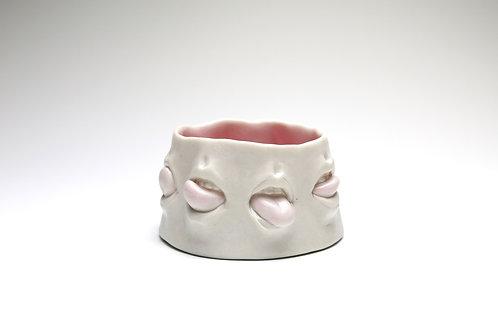 Pink Mouth Salt Cellar