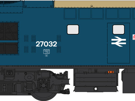 O Gauge Class 27 Artwork Approved!