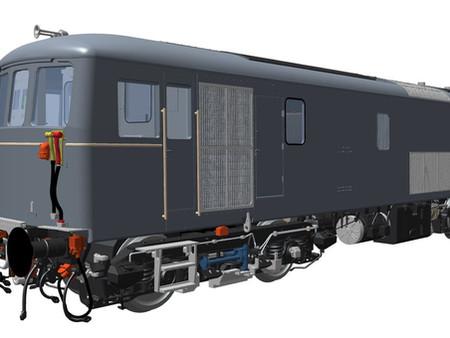 FIRST LOOK! O Gauge Class 73 CAD