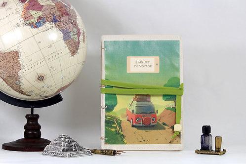 Sur la route ! | Carnet de voyage personnalisable