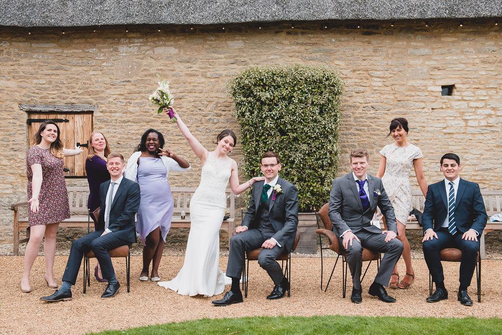 Group photos at The Tythe Barn