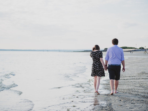 West Wittering Engagement Fun!