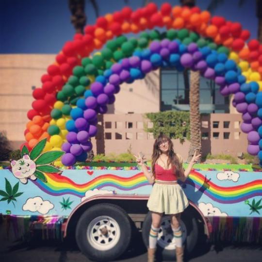Pride Float in AZ Gay Pride Parade
