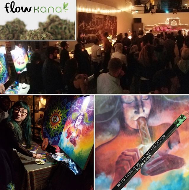Had a blast painting live n spreading he