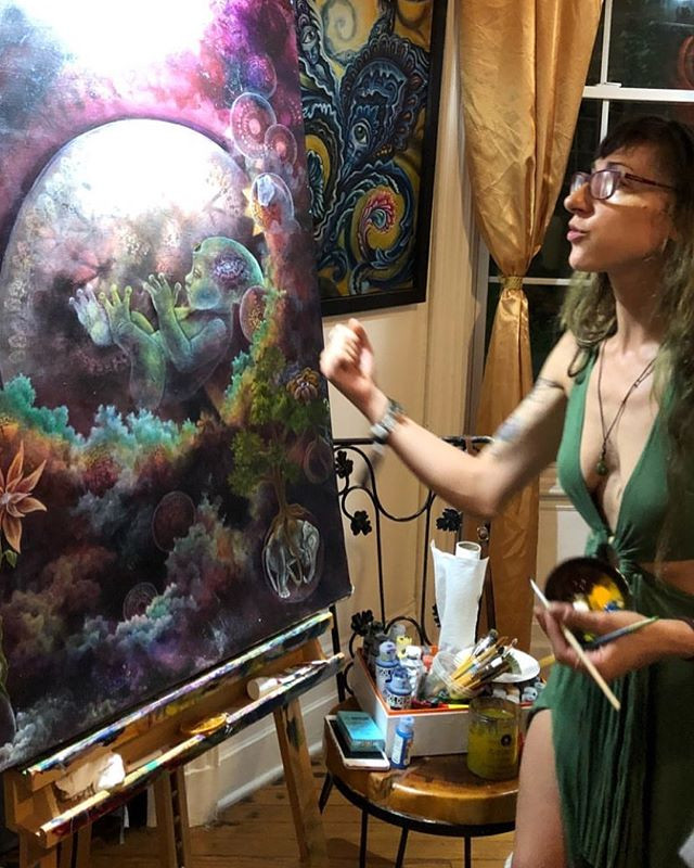 Had a blast #live #painting at _chapelof
