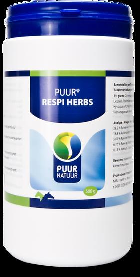 PUUR Respi herbs 500g / Luchtwegkruiden  PP