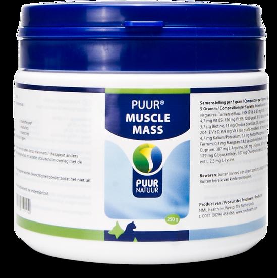 PUUR Muscle mass 250g