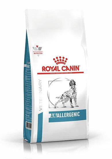 Royal canin Anallergenic 3 kg Dog - Alleen voor onze bekende dieren.