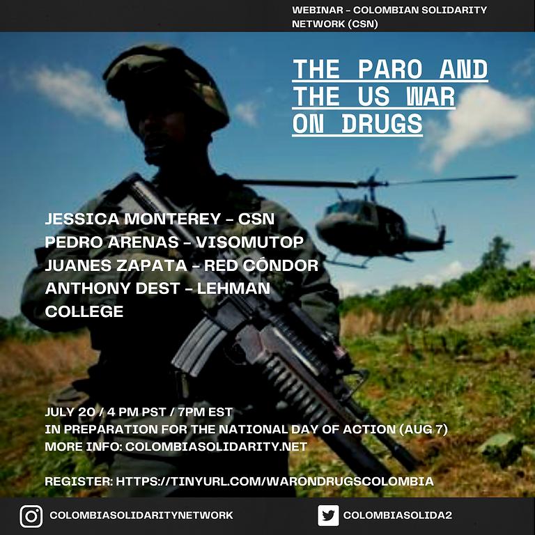 End the US War on Drugs - Webinar