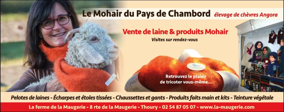 Le mohair des Pays de Chambord