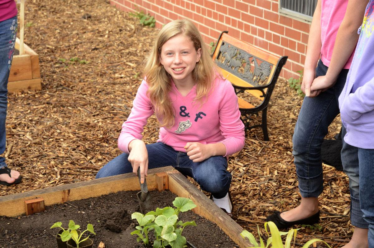 Emmeline Cook Planting