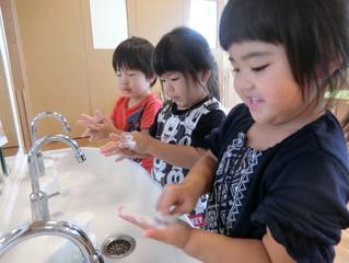 きりん組☆手洗い・歯みがきがくしゅう〜