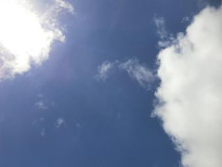 今日の青空✨