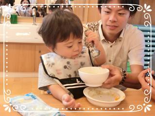 8月4日☆キューピー・バンビ給食参観