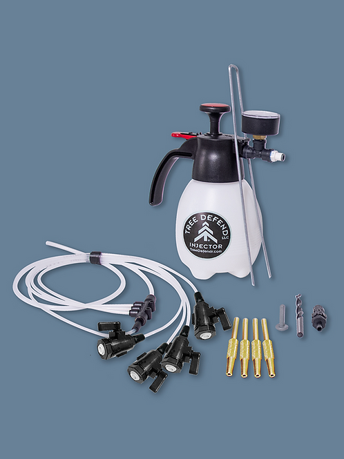 BASE MODEL (1-Liter) TREE DEFEND with Poly/Viton Valves