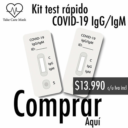 Kit test rápido COVID-19 IgG/IgM