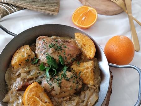 Yassa de poulet à l'orange
