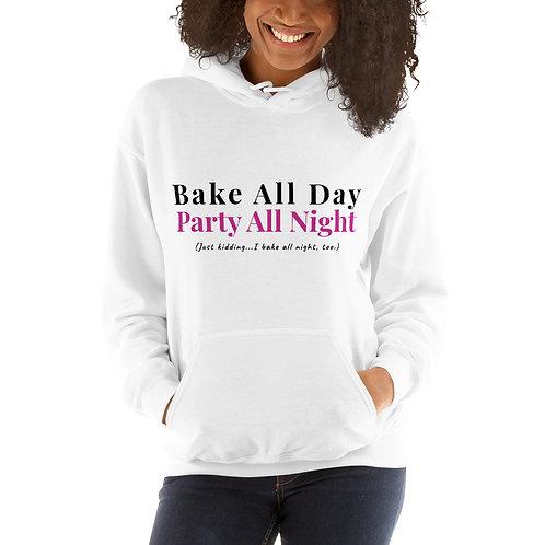 Bake & Party Unisex Hoodie