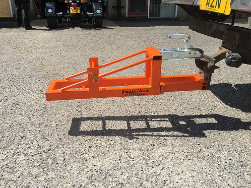 Trike dolly trailer 120mm from fastrikes with drop plate