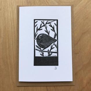 Wren card - £3.00
