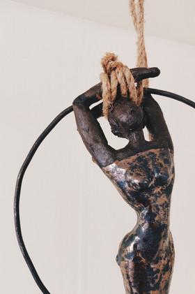L'acrobate bronze