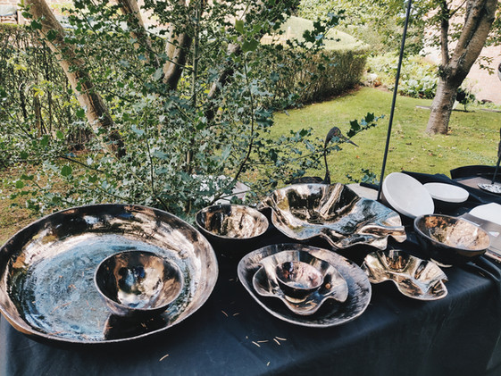 ceramic garden exhibition