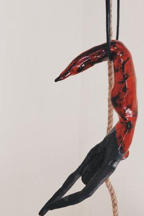 L'acrobate rouge
