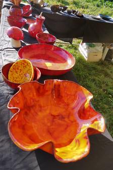 Ceramic garden exhibition