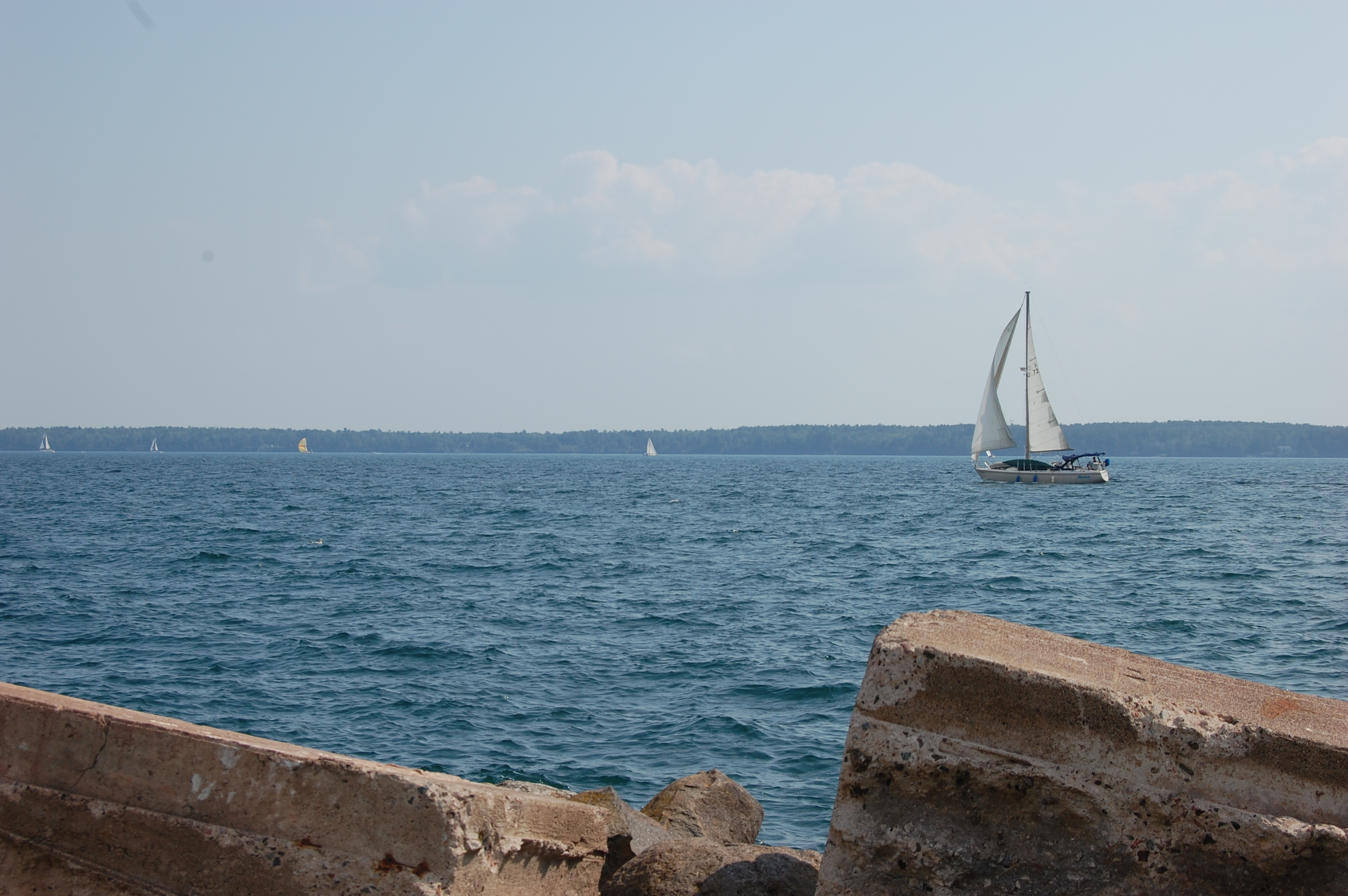 1 sailboat