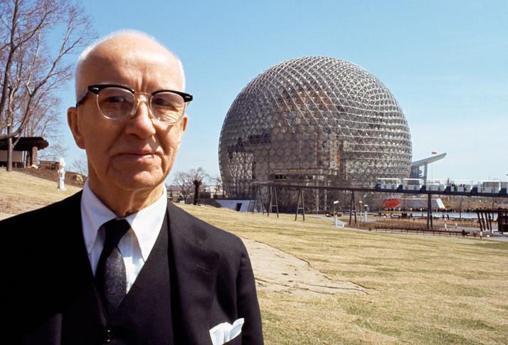 """""""Let's act like humans."""" -Buckminster Fuller"""
