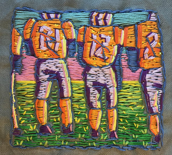 Football Embroidery