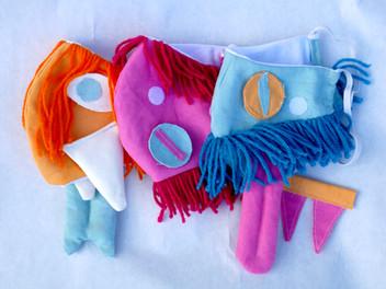 Custom Monster Masks
