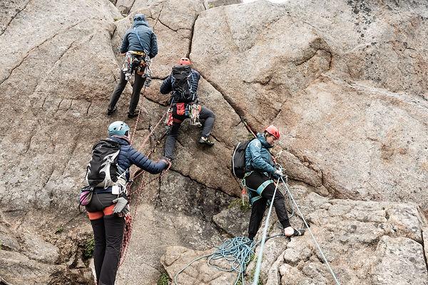 klätterkurs i Lofoten