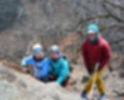 klätterkurs i ryssgraven i Stockholm