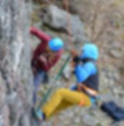 klätterkurs i Stockholm