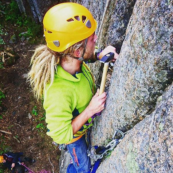 aid-klättring i Finland