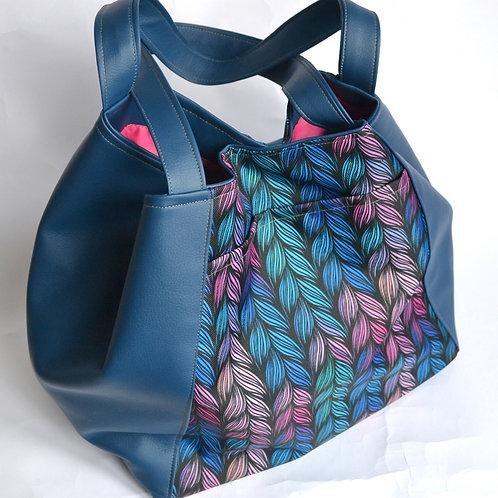 City bag bleu marine